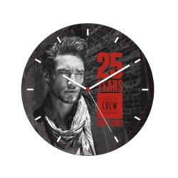 American Crew 25th Anniversary Clock zegar ścienny