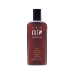 American Crew Classic 3w1 szampon odżywka i żel pod prysznic 250 ml