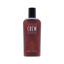 American Crew Classic 3w1 szampon odżywka i żel pod prysznic 450 ml
