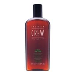 American Crew Classic 3w1 szampon odżywka i żel pod prysznic o zapachu drzewa herbacianego 450 ml