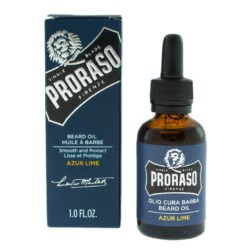 Proraso Blue Azur Lime Beard Oil Olejek do brody 30 ml