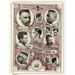 Reuzel Poster Classics Haircuts plakat 50 x 71 cm