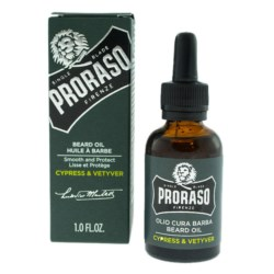 Proraso Green Cypress & Vetyver Olejek do brody 30 ml