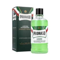 Proraso Green Aftershave Lotion chłodzący lotion po goleniu 400 ml