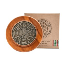 Captain Fawcett Shaving Soap Scapicchio Fig, Olive and Bay Rum mydło do golenia 110 g