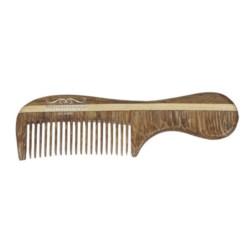 E. Barburys Grzebień 8482207 Rosewood MINI z rączką 7,4cm