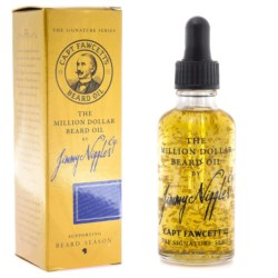 Captain Fawcett Million Dollar by Jimmy Niggles olejek do brody ze złotem 50 ml