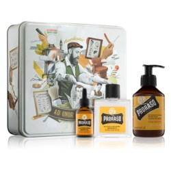 Proraso Yellow Wood and Spice Zestaw Beard Kit