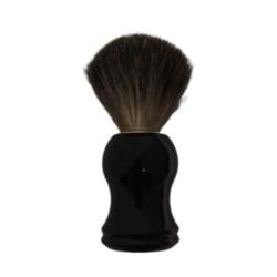 Pędzel do golenia z włosiem z borsuka czarna rączka