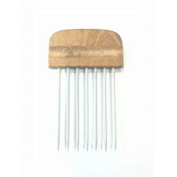 Grzebień Afro duży drewniany 2303519