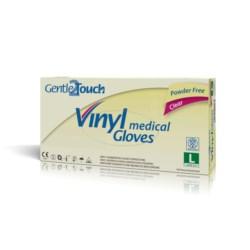 GentleTouch L rękawiczki vinylowe bezpudrowe
