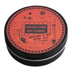 Pan Drwal Working Class Hero Greasy Punk Wax woskowa pomada do włosów 135g