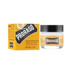 Proraso Yellow Wood and Spice Wosk do wąsów 15 ml