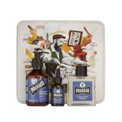 Proraso Blue Azur Lime Zestaw Beard Kit