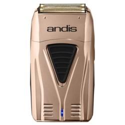 Andis TS-1 bezprzewodowa foliowa golarka do włosów miedziana