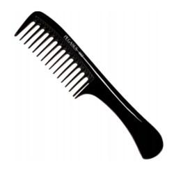 Pegasus profesjonalny kauczukowy grzebień barberski 502