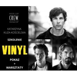 American Crew Katarzyna Kuza-Kościelska 25.04.2021 r. Łódź POKAZ+WARSZTATY