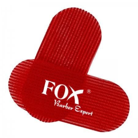 FOX Barber Expert rzepy do włosów 2 szt. czerwone
