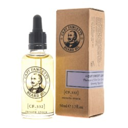 Captain Fawcett zestaw olejek Private Stock 50 ml + wosk do wąsów 15 ml