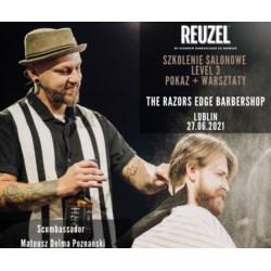 Szkolenie Reuzel 27.06.2021 r. Lublin Mateusz Delma Poznański Scumbassador level 3 POKAZ + WARSZTATY