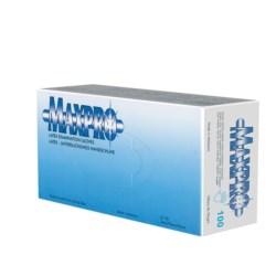 Rękawiczki latex białe Maxpro XS
