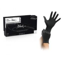 Rękawiczki latex czarne MaiMed M