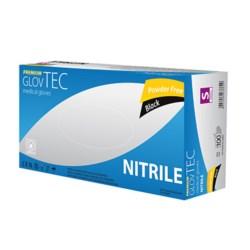 Rękawiczki nitrile czarne GlovTec XL