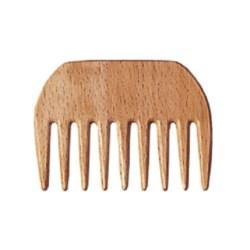 Grzebień Afro mały drewniany 2303518
