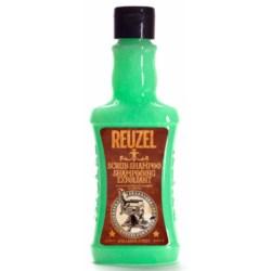 Reuzel Scrub Shampoo - szampon oczyszczający 350 ml