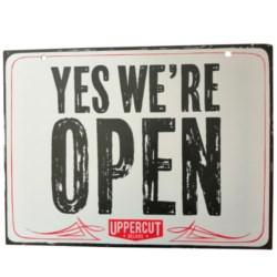Uppercut Deluxe tabliczka Open/Closed