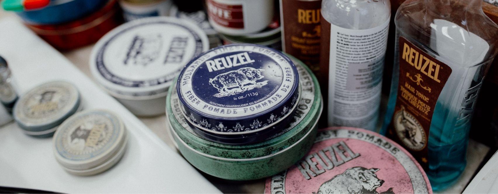 Kosmetyki Reuzel w BarberShopie